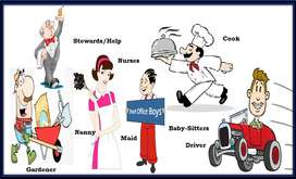 Domestic cook and commercial chef (Male & female)