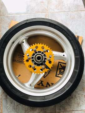 """velg belakang moge Ducati Monster lebar 5.5"""" for 696/795"""