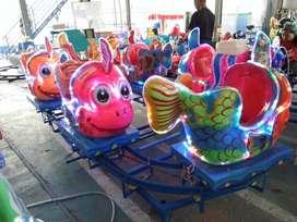 AGM mainan kuda genjot usaha persewaan odong nemo kereta IIW
