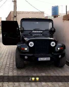 New open Jeep modified