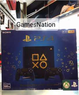 Ps4 console 500gb with one controller and vr bundle