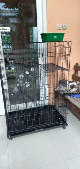 Jual kandang kucing tingkat 3