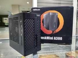 Pc Mini Asrock Athlon 3000G 8gb ddr4 Ssd Nvme desain gaming ryzen Am4