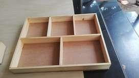 Wood gift box