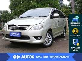 [OLX Autos] Toyota Kijang Innova 2.4 V Diesel A/T 2013 Silver