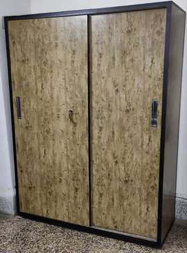 Move Out sale Wooden Wardrobe and King Size Bed Scheme 78 Vijay Nagar