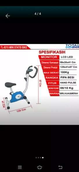 Buduran gym sepeda statis