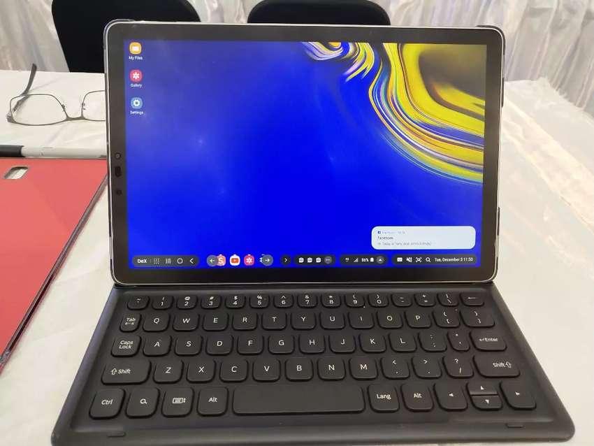Samsung Tab S4 fullset + keyboard istimewa 0