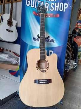 Gitar akustik tenang