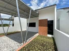 Rumah dijual rumah cluster baru 3 unit
