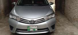 Toyota Corolla GLI Model 14 Lahore car for sale C/N (0345:4279249)