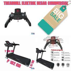 Treadmill elektrik fitur lengkap alat fitness Gym Lari murah