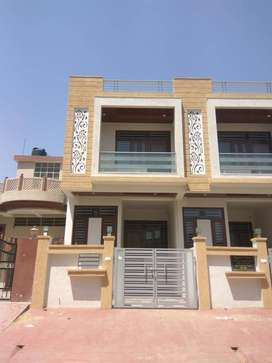 Premium 1890 sq ft duplex villa behind 100ft road