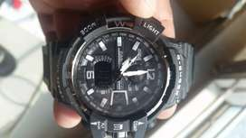 Casio G Shock watch , date, led light, water proof shock proof