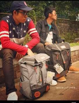 Backpack bag Gear tas gendong