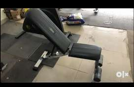 Gym equipment trademill dumbbell all available