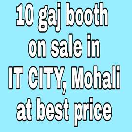 10 gaj Booth on sale in IT CITY, Mohali at best price