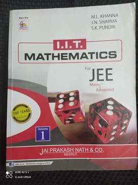 ML KHANNA IIT MATHEMATICS FOR JEE MAIN AND ADVANCED