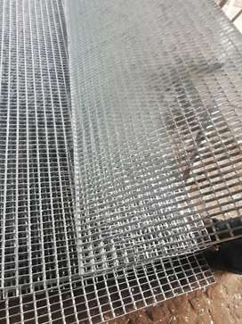 Grating steel flooring structure hot dip Galvanized  made of MS sheet
