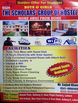 Scholar group of hostel