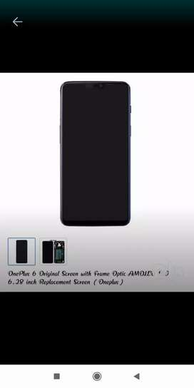 OnePlus 6 original display sale