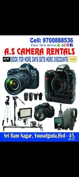 DSLR Camera on rent
