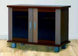 Rak TV Exclusive MTVK 608 (2 Pintu Kaca Frame Panel Model Swing)