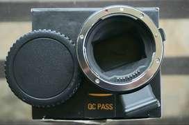 Adaptor commlite sony to canon (e-mount)