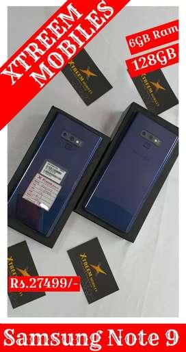 Samsung Note 9..6GB RAM AND 128GB INBUILT..