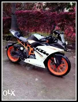 Ktm rc390 argent sell