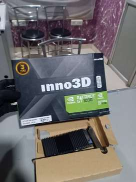 GT 1030  GEFORCE NVEDIA INNO 3D GRAPHICS CARD