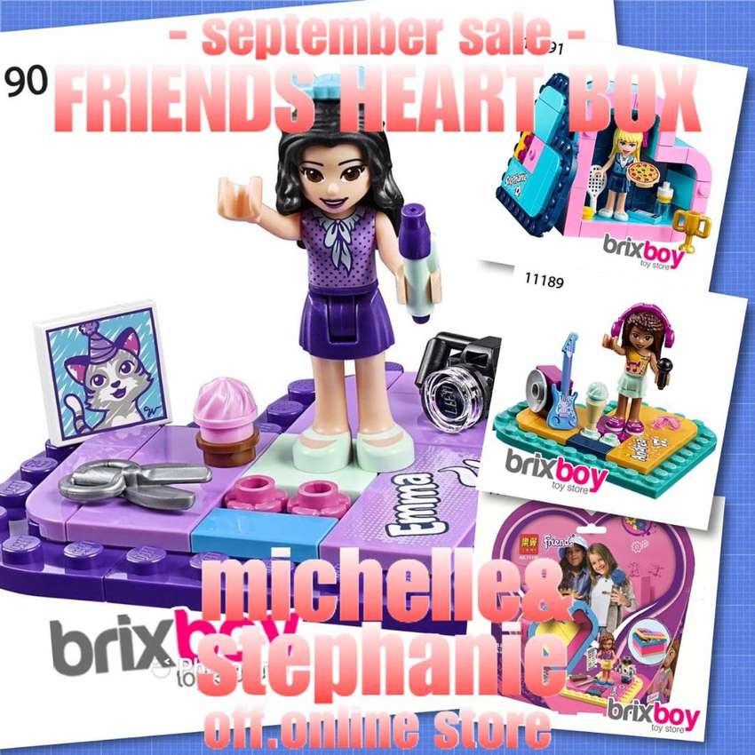 M&S SAYANGANAK.IDBRIXBOYS134 - 2020 Mainan Friends Seri Heart Box-01 0