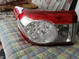Toyota Corolla GLi 2012 rear back break lights