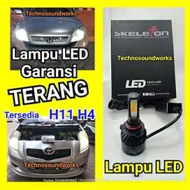 2 pcs LED ready Bola lampu LED H7 H11 HB3 HB4 H4 avanza calya mobilio