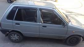 Mehran 2010 availabel with driver rent