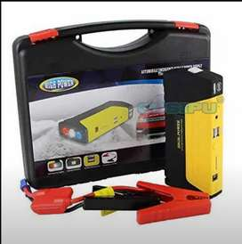 Car Starter - Battery Booster With Torch - Multicolor