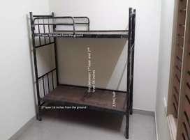 Brand new 2 tier metal bunk bed or bunker cot