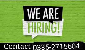 Jobs available (Part Time, Full Time & Home Base)