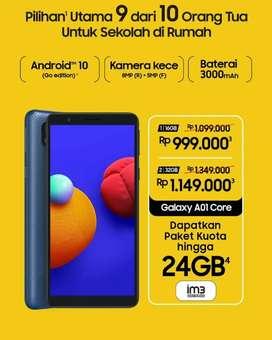 Samsung A01core 2/32 biaa cicilan DP Murah