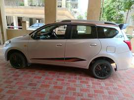 Datsun GO Plus Remix 2018 Petrol Well Maintained 7 Seater