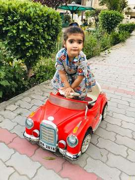 Red car for kids