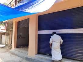 Pothencode,Nannattukavu: 2 shutter shops for rent