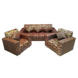 5 seater sofa set  best quality in market 4500 adv 1500x6  easy emi