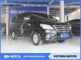 [OLXAD] Toyota Innova G 2.0 AT Bensin 2014 Hitam #PartnerTerpercaya