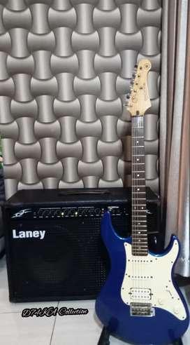 Laney Amplifier Original & Yamaha Gitar Pacifika