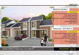 New model rumah di pataruman dkt cipatik batujajar dp20 jt