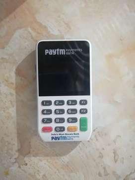 Paytm Swipe Mashine