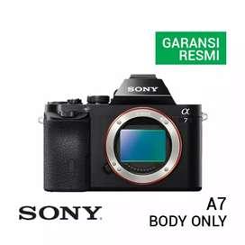 Kredit Kamera Mirrorless Sony A7 Body Only Promo Gratis 1x Cicilan
