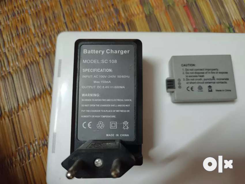 Sc 108 battery  and charger 0