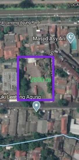 Jual Tanah Zona Ungu K1, Lenteng Agung, Jakarta Selatan